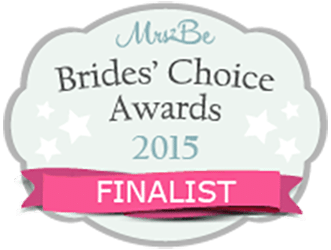 Brides Choice Awards 2015 Finalist - Candy Lady