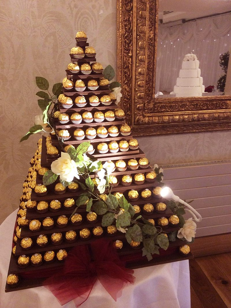 Ferrero Pyramid Hire - Candy Lady