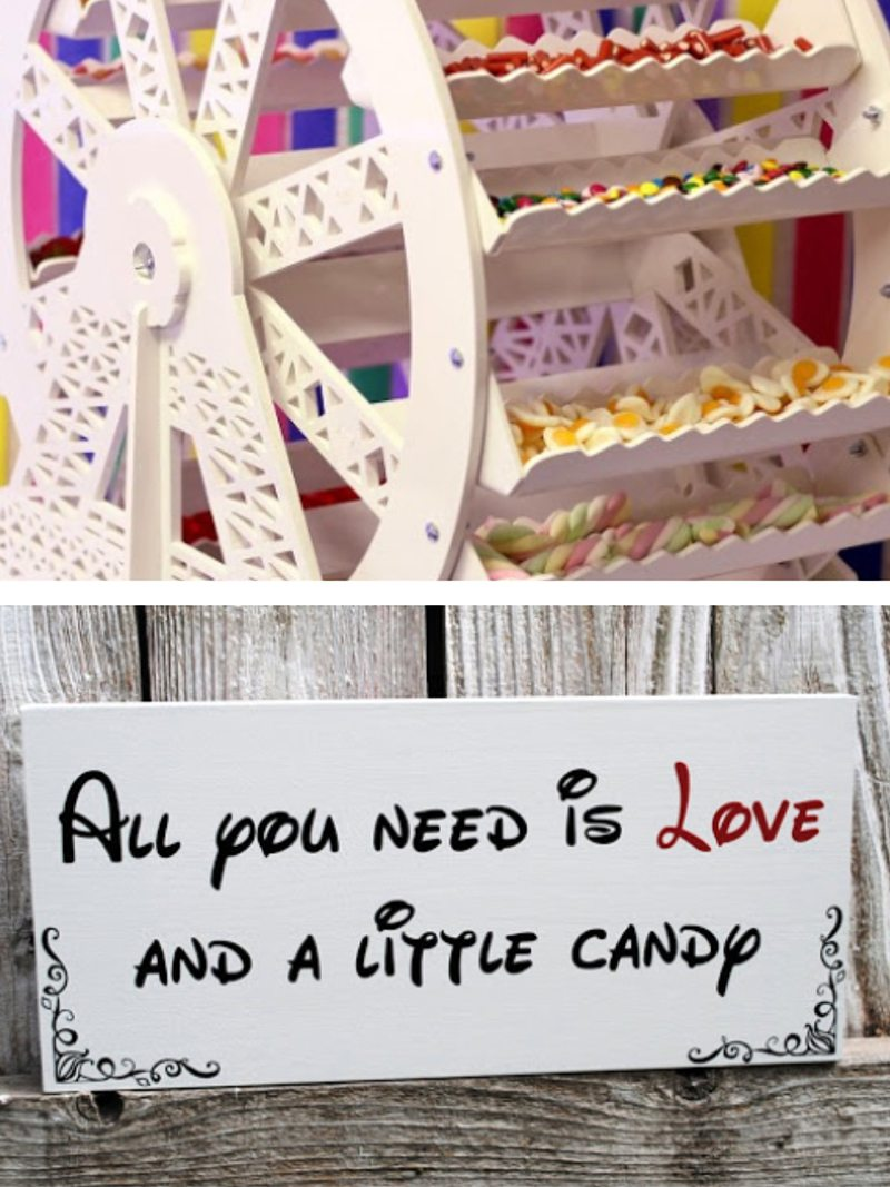 Ferris Candy Wheel Hire - Candy Lady