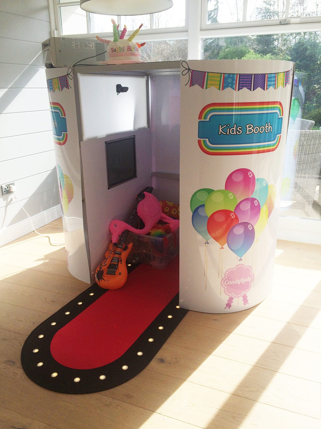 Kiddies Photo Booth Hire - Candy Lady