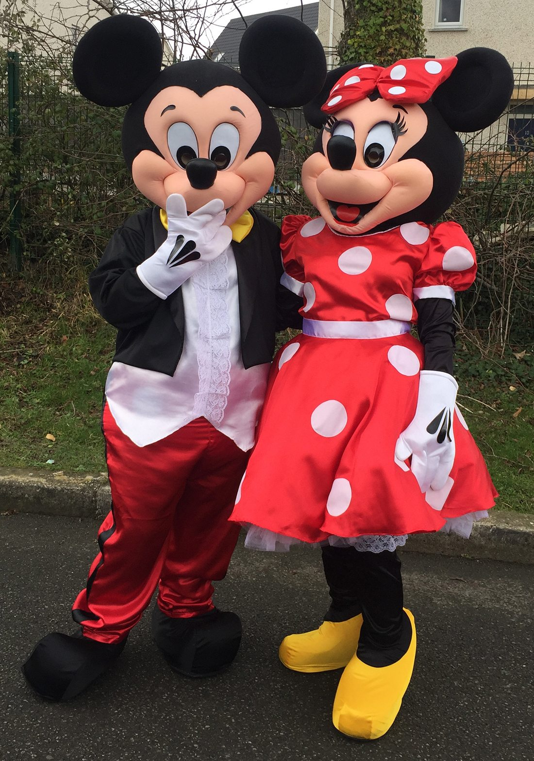 Mickey & Minnie Mouse Mascot Hire - Candy Lady
