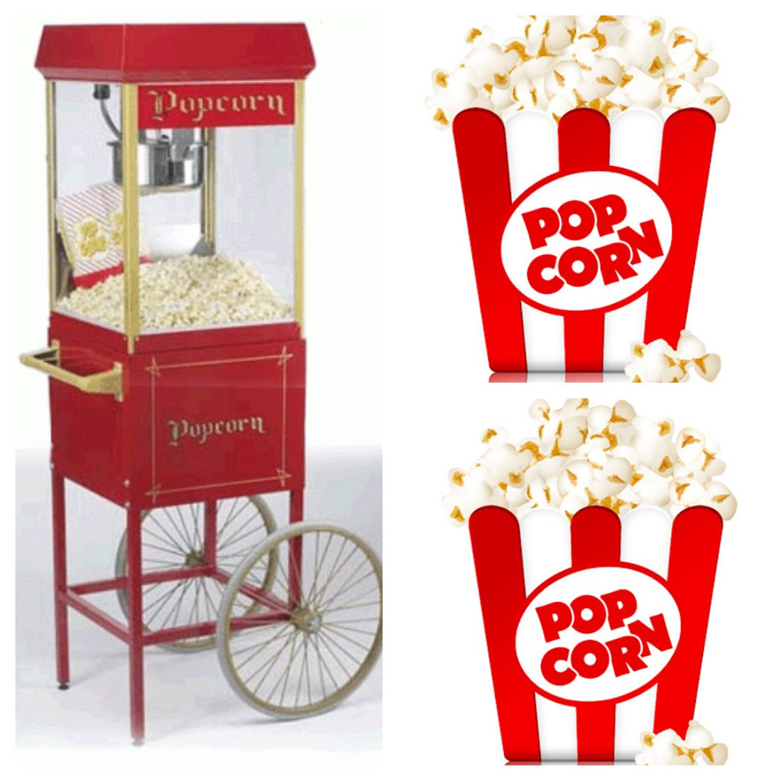 Popcorn Cart Hire - Candy Lady