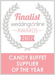 Weddings Online Finalist 2017 - Candy Lady