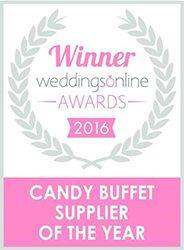 Weddings Online Winner 2016 - Candy Lady