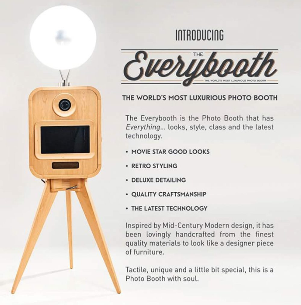 The Everybooth   Vintage Photobooth   Vintage Photo Booth - Candy Lady