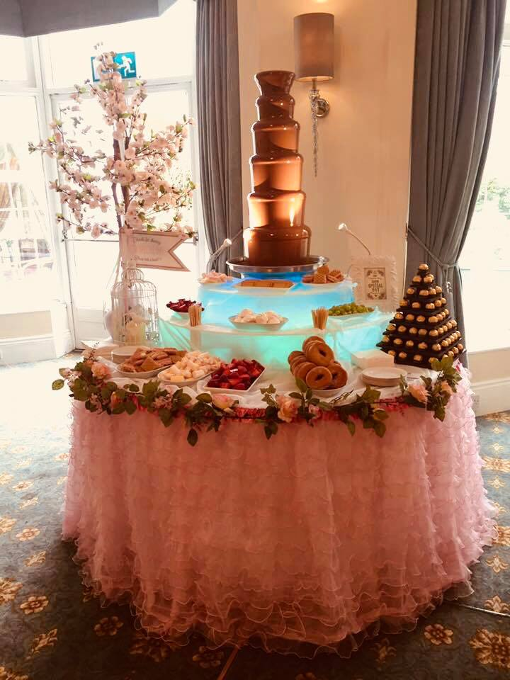 chocolate fountain hire - Candy Lady