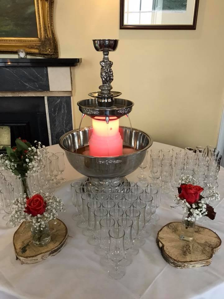 Champagne Fountain Hire - Candy Lady