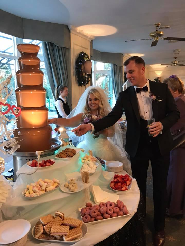 Candy Lady - Chocolate Fountain Hire