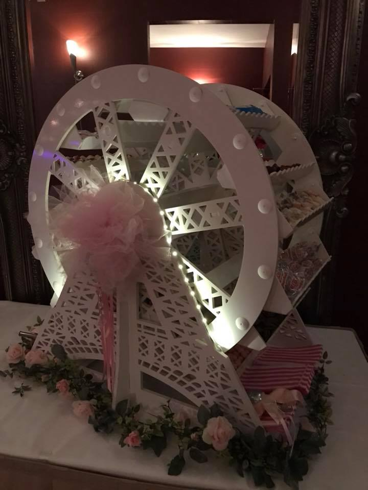 Candy Lady - Ferris Candy Wheel Hire