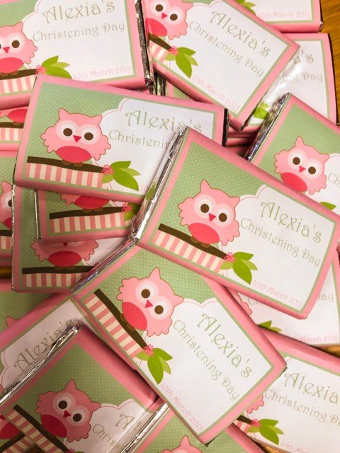 personalised chocolate bars - Candy Lady