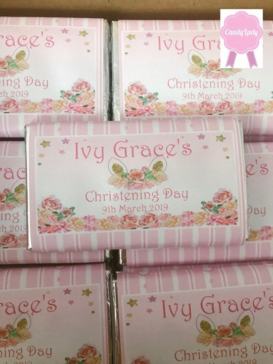 Personalised Chocolate bars & Sweets - Candy Lady