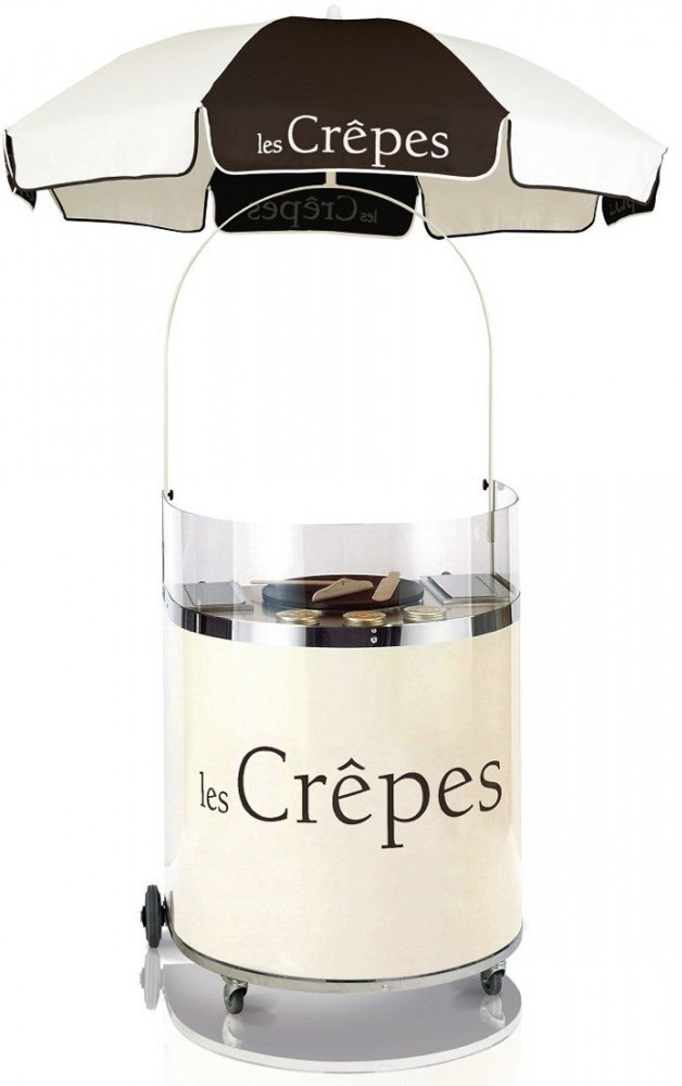 Crepe Cart Hire - Candy Lady