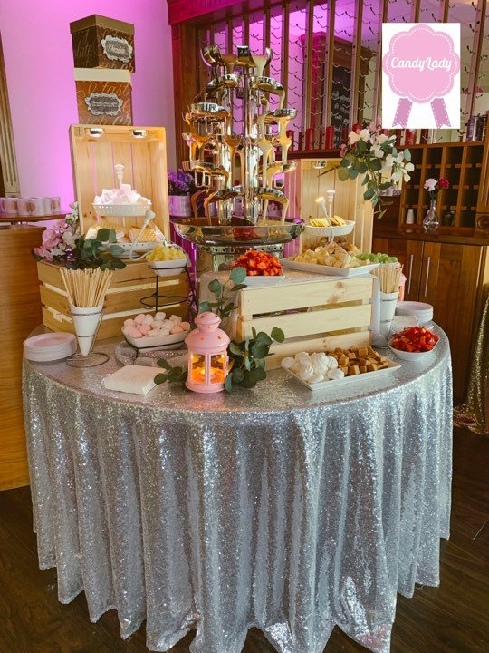 Double Chocolate Fountain Hire - Candy Lady
