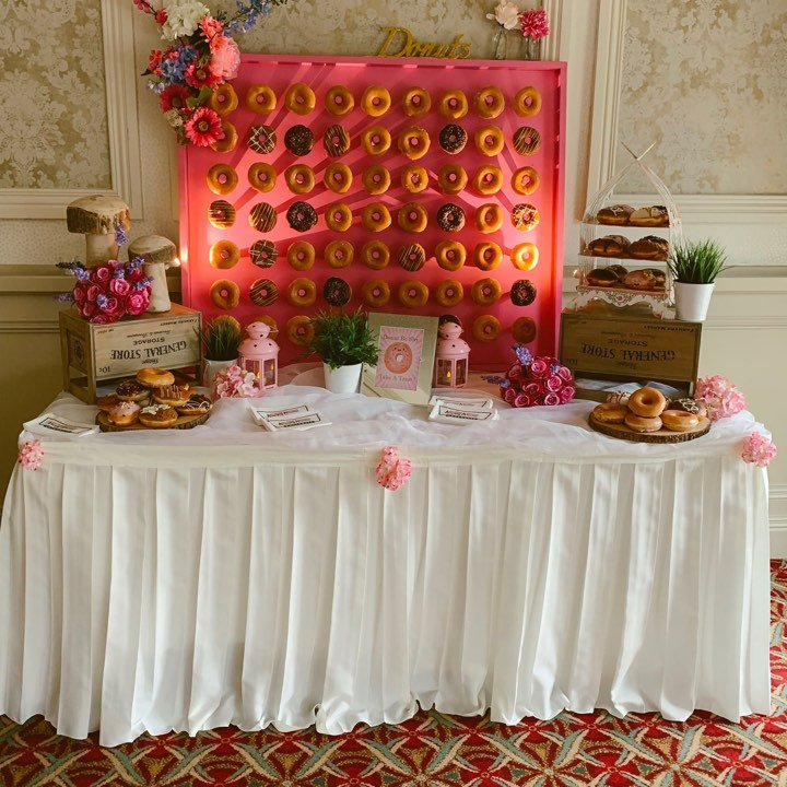 Donut Wall Hire - Candy Lady