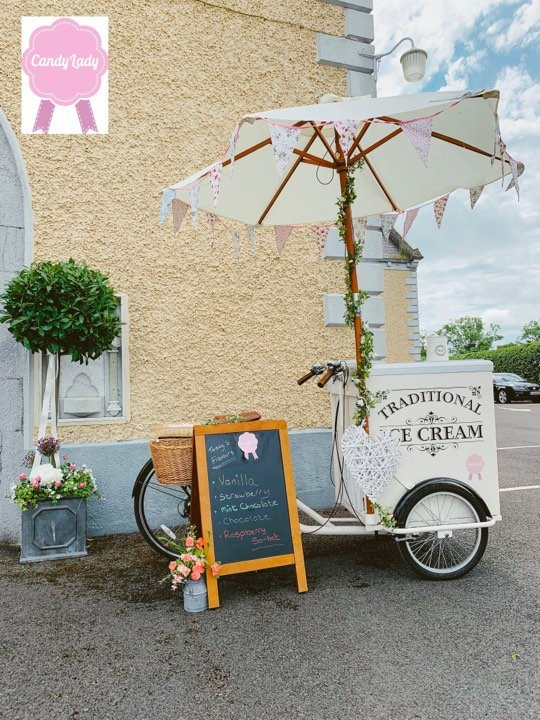 Ice Cream Bike Hire - Candy Lady