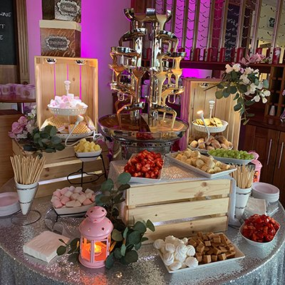 Double Chocolate Fountain Hire - Candy Lady Services