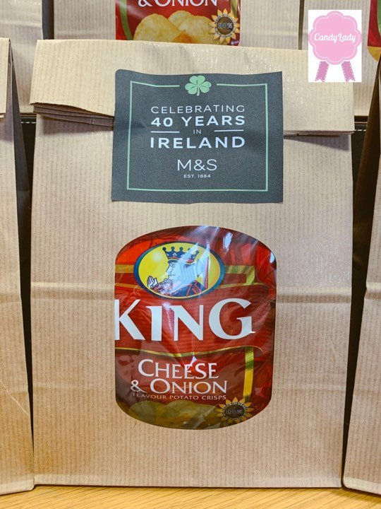 Tayto / King Sandwich Crisp sandwich