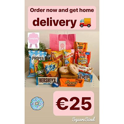 Home Sweets Deliveries - Candy Lady