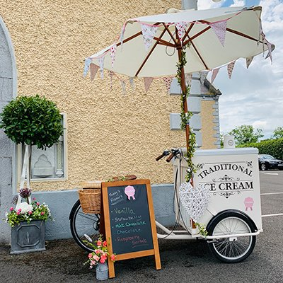 Ice Cream Bike Hire - Candy Lady