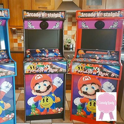 Arcade Game Hire - Candy Lady